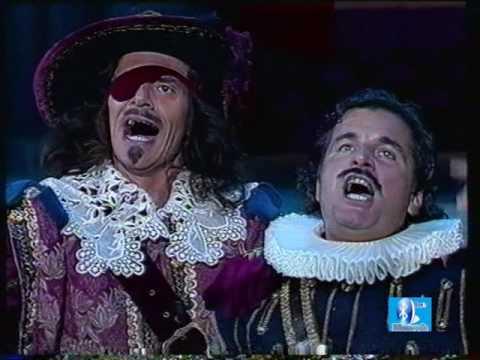 I 3 Moschettieri-Canale 5, 2 puntata