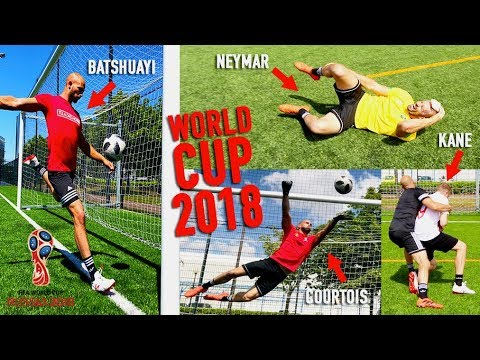 RECREATING THE WORLD CUP 2018 BEST MOMENTS!