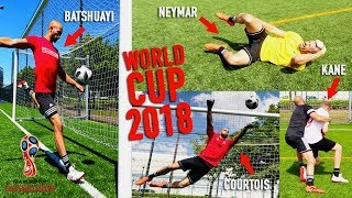 WORLD CUP 2018 BEST MOMENTS - RECREATED!