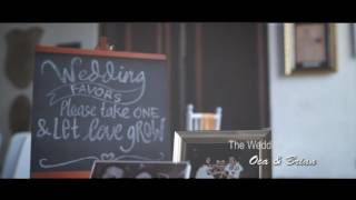 Oca & Brian Wedding Clip