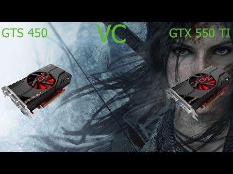 GTS 450 VC GTX 550 TI