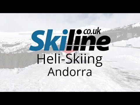 Ski Line | Heli-Skiing | Andorra