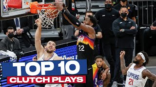 Top 10 CLUTCH Plays of 2020-21 NBA Postseason 🙌