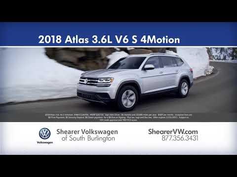 Shearer Volkswagen Sign then Drive- December 2017