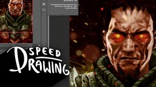 Speed Drawing: General Zod