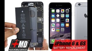 iPhone 6 & 6S battery replacement