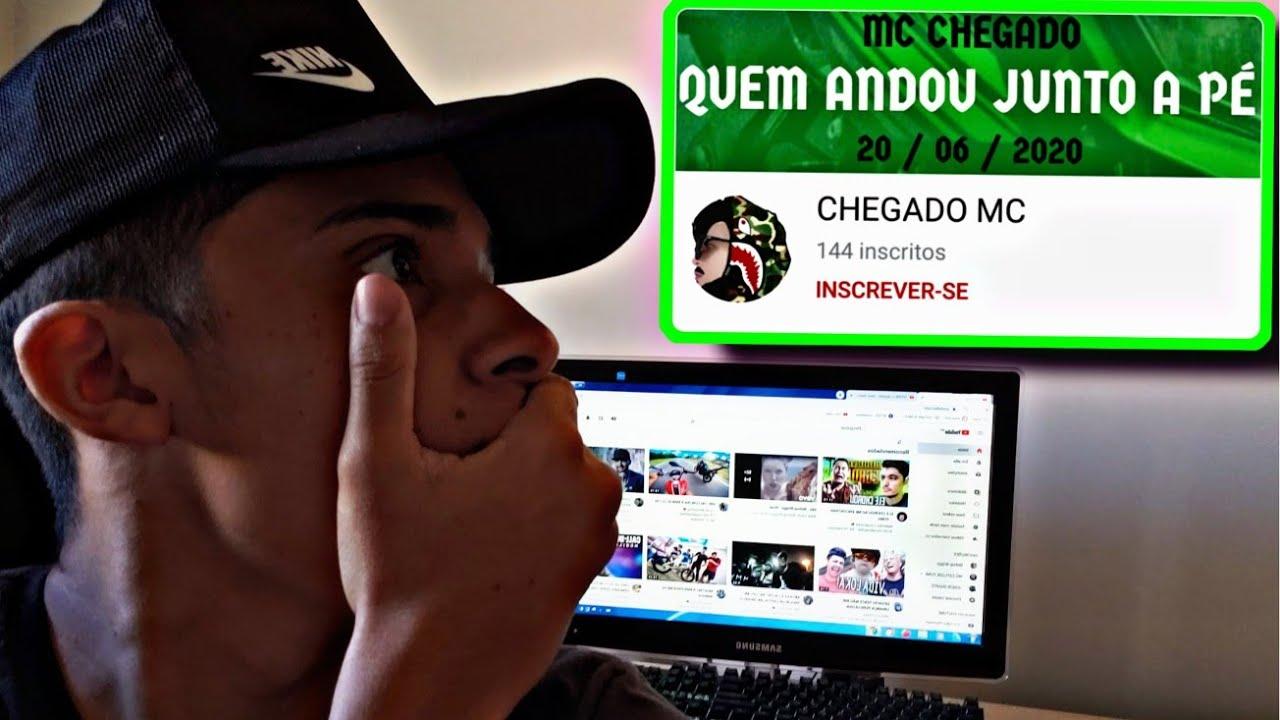 REAGI AO CLIPE DO MC CHEGADO!!! *Música feita para o canal*😱🔥