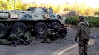Как инструктора готовят ополченцев на Украине/ How instructors prepare militants