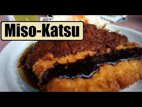 JAPANESE FOOD | Miso-Katsu (味噌カツ) in Nagoya