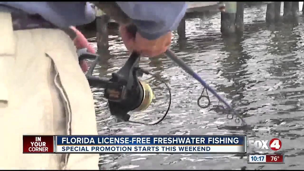 Freshwater fishing license - License Free Fresh Water Fishing