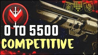 Full 0 to 5500 in Competitive | 1 Play Session to Max Legend Rank!