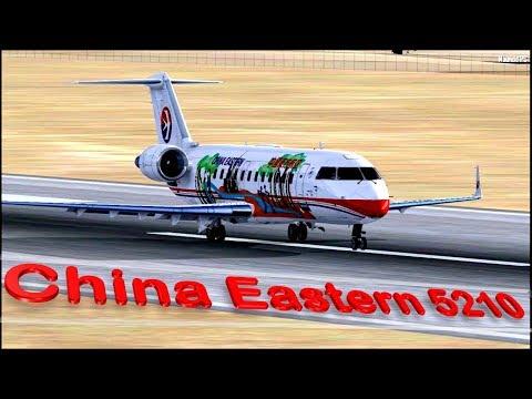 Vuelo 5210 de China Eastern Airlines - Olvido bajo cero (Reconstrucción)