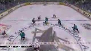 NHL 2K7  PS3 Video Ingame!