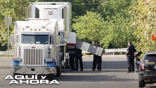 Los angustiosos relatos de familiares de inmigrantes a bordo de un camión hermético