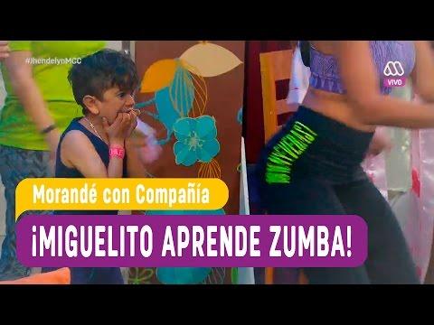 Morandé con Compañía 2016 – Miguelito aprende zumba con sensual instructora – Capítulo 84