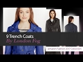 9 Trench Coats By London Fog Amazon Fashion 2017 Collection