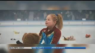 Young Colorado Springs ice skater chosen for national commercial