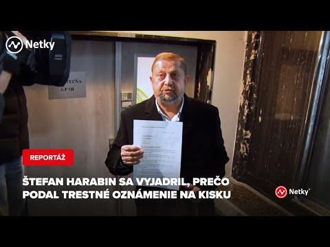 Štefan Harabin Sa Vyjadril, Prečo Podal Opätovné Trestné Oznámenie Na Andreja Kisku