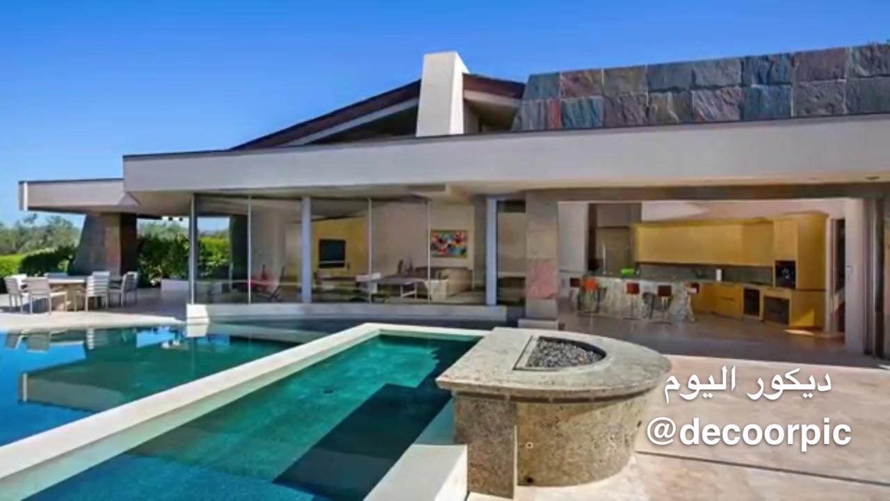 منزل فاخر في أعلى الجبل يتميز بجمال التصميم داخلي والخارجي Youtube