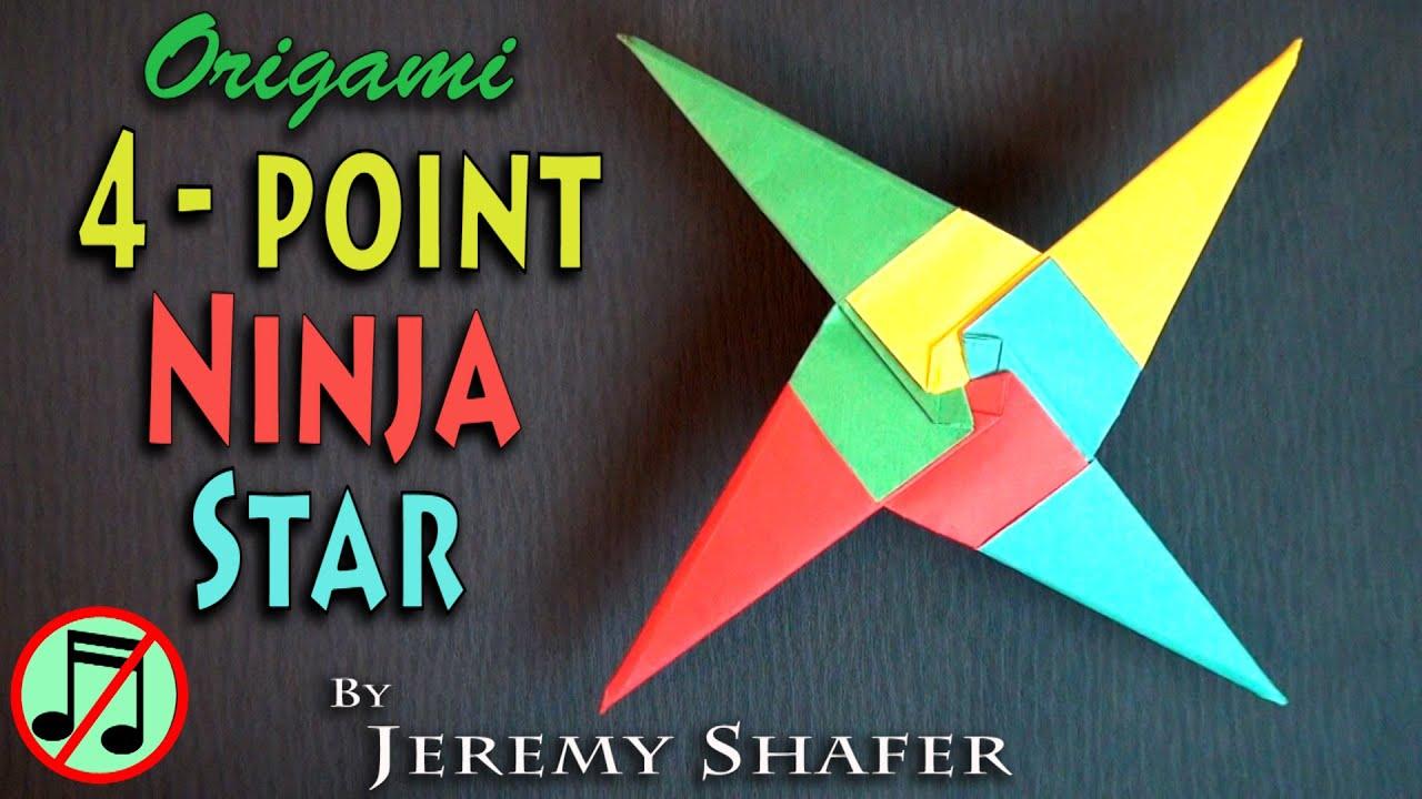 Four Point Ninja Star (no music) - YouTube - photo#48