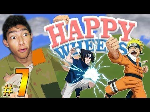BATALLA NINJA !! - Happy Wheels: Episodio 7
