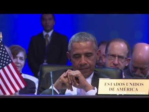 Raul Castro stands up for Obama at Summit of the Americas