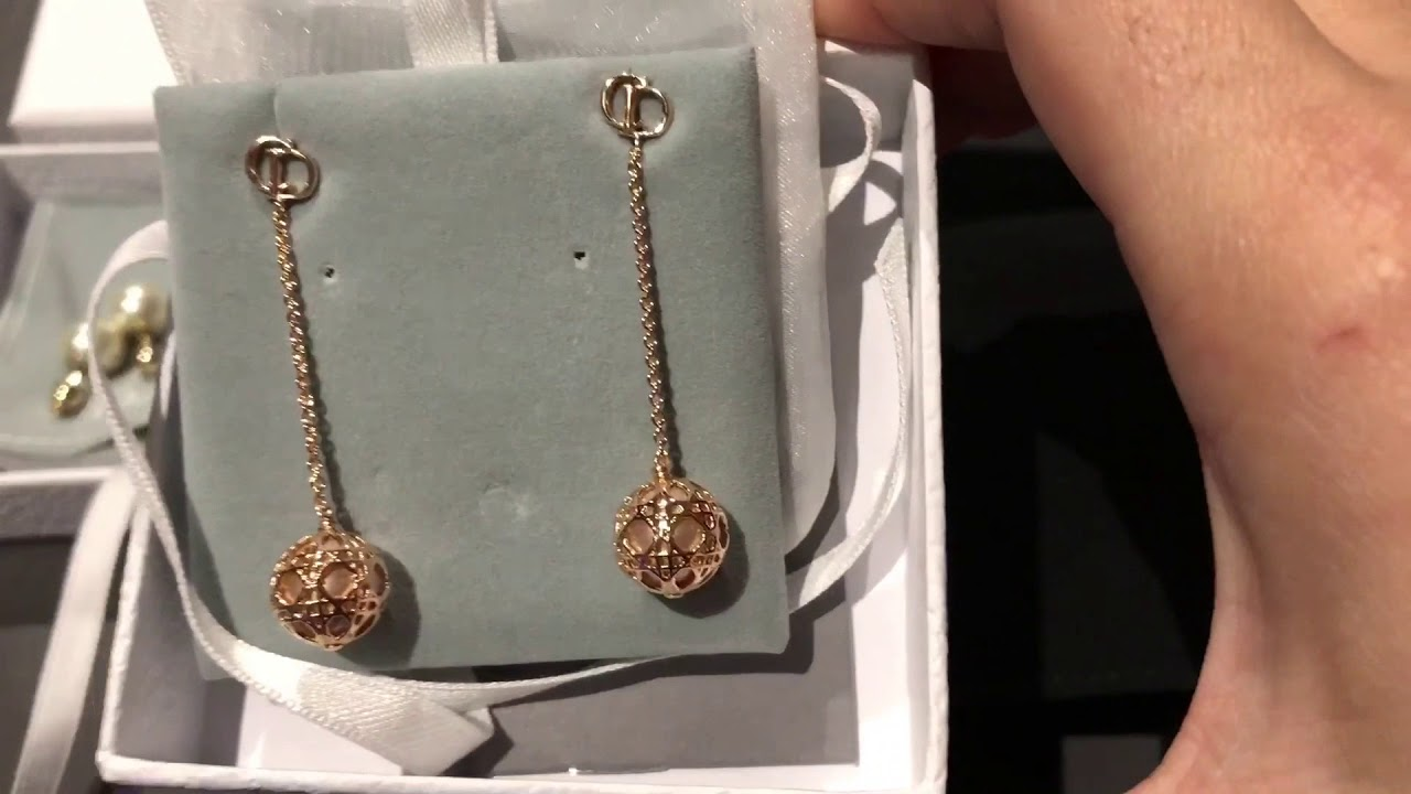 Chanel Vs Dior Earring 2017