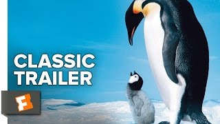 March of the Penguins (2005) Official Trailer - Morgan Freeman Bird Migration Documentary HD