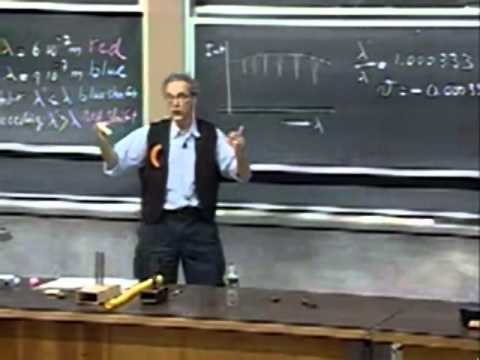 Lec 23: Doppler Effect, Binary Stars, Neutron Stars, Black Holes | 8.01 Classical Mechanics (Lewin)