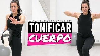 Adelgaza y tonifica tu cuerpo con 8 ejercicios | Rutina rápida TotalBody