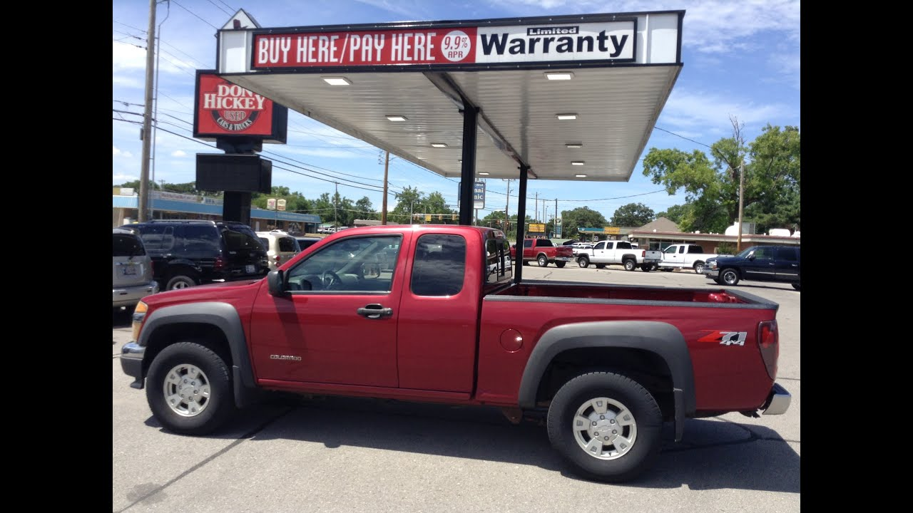 Buy Here Pay Here Truck Dealer Okc 2005 Chevrolet Colorado