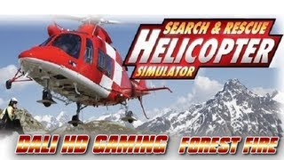 Helicopter Simulator Search & Rescue Forest Fire PC Gameplay HD 1440p