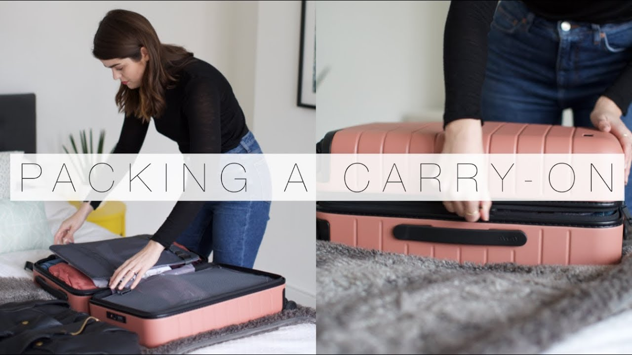 682249a6b59 Pack With Me: Carry-On Top Tips   The Anna Edit - YouTube