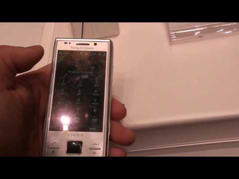 Sony Ericsson Xperia X2 at CES