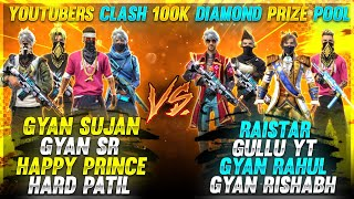 Raistar Squad Challenged 100k Diamond Prize Win - Garena Free Fire
