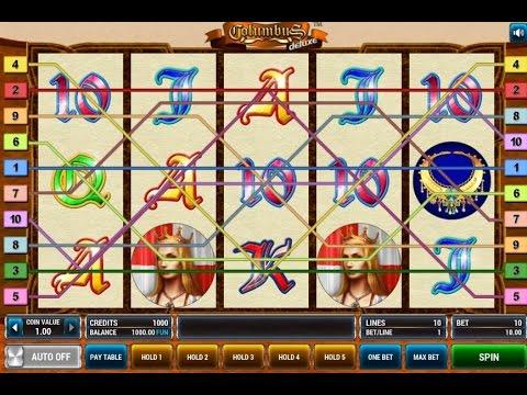 Видео Игровой автомат columbus deluxe