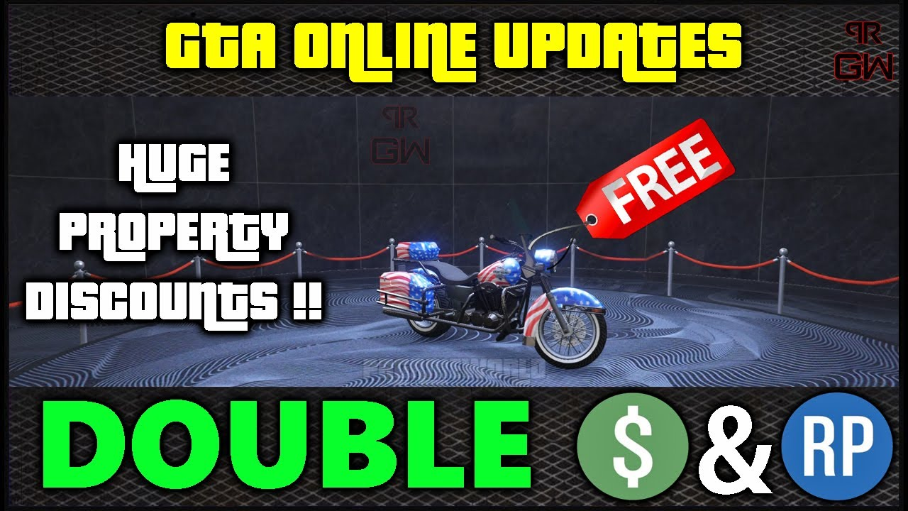 GTA 5 Online - 4th July Independence Day Bonuses, 2X Game Mode & HUGE Discounts! Weekly Updates 2020