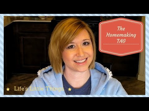 The Homemaking TAG || Get to know me || SAHM || Housewife Life