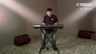 Clip VDO Review Yamaha PSR-E463 กับจังหวะลูกทุ่ง หมอลำ By อ.ดาวนภา แก้วสีโท