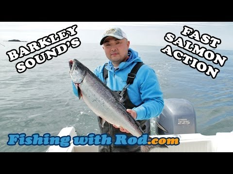 Barkley Sound's Fast Salmon Action | Fishing With Rod