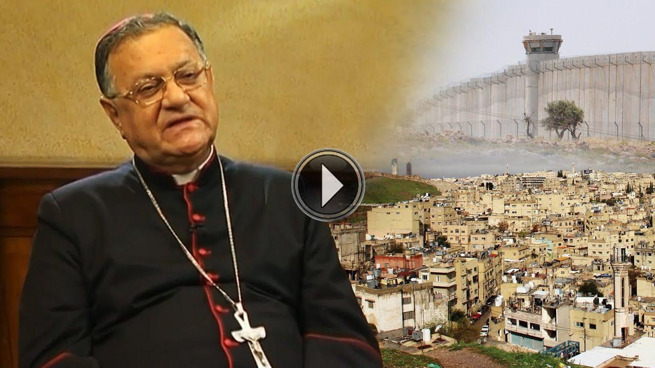 S.B. Mons. Fouad Twal, Patriarca Latino de Jerusalén