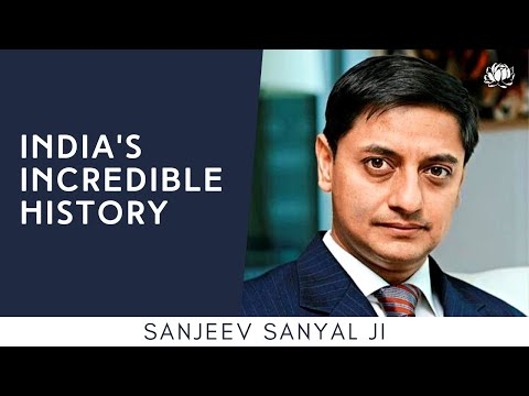 S1: Sanjeev Sanyal on India's Incredible History @ The Festival of Bharat