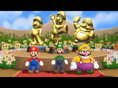 Mario Party 9 - Step It Up - 1-vs-Rivals (Master Difficulty)