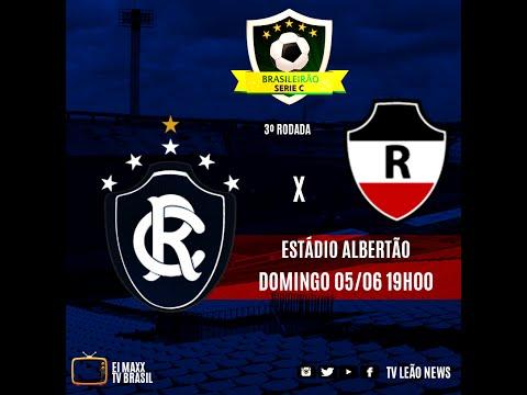 Série C - River PI 1 x 2 Clube do Remo - Jogo Completo