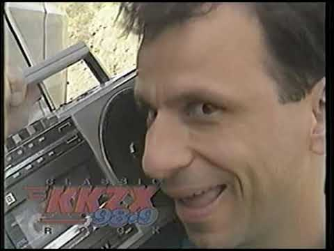 KKZX-FM Corvette Contest Ad from 1992