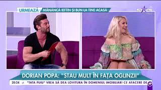 """Dorian Popa s-a dat de gol: """"Posteriorul este una dintre pasiunile mele!"""""""