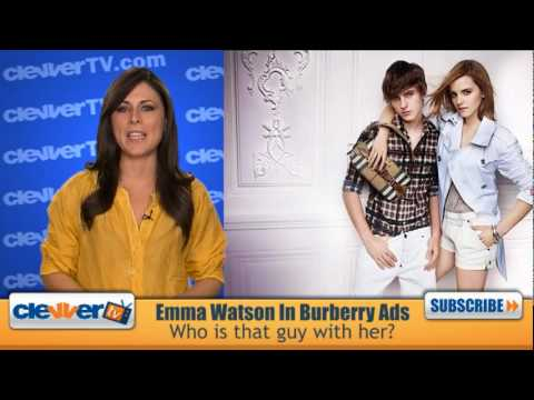 Emma Watson Burberry Ad - Who Is That Guy?