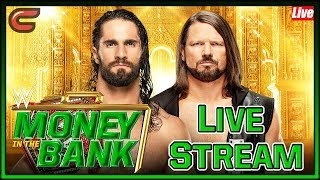 WWE Money In The Bank Live Stream Full Show May 19th 2019: Live Reaction Watch Along Conman167 thumbnail