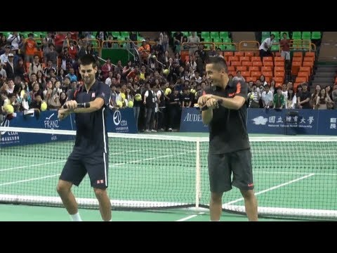 Dancing Tennis Players: From Gangnam Style to Crip Walk - Tennis Now