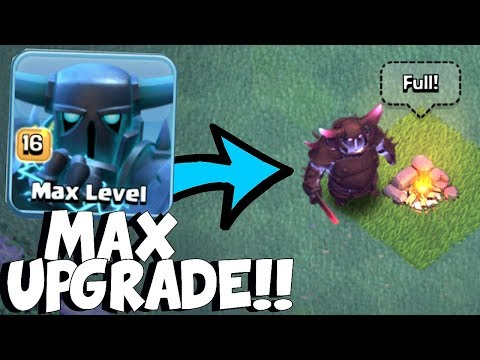 MAX SUPER PEKKA!! | Clash Of Clans | BH8 UPDATE!
